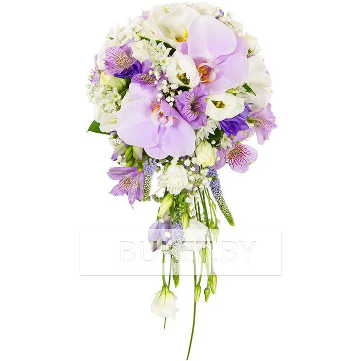 """Букет невесты """"Фиолетовая нежность"""""""